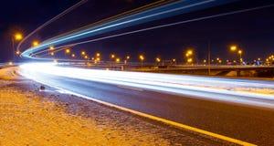 Traffico di inverno Immagine Stock Libera da Diritti