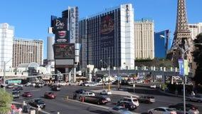 Traffico di Las Vegas video d archivio