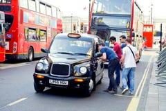 Traffico di Londra Fotografia Stock
