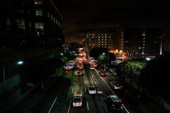 Traffico di Los Angeles fotografie stock