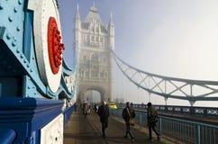 Ponte della torre Fotografia Stock Libera da Diritti