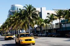 Traffico di Miami Fotografie Stock Libere da Diritti