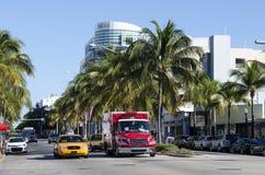 Traffico di Miami Immagini Stock Libere da Diritti
