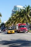 Traffico di Miami Fotografia Stock Libera da Diritti