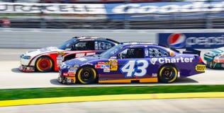 Traffico di NASCAR a Martinsville Immagini Stock Libere da Diritti