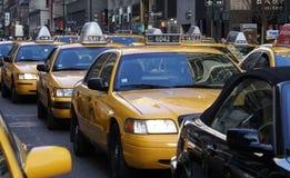 Traffico di New York Immagini Stock