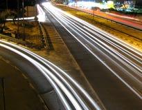 Traffico di notte Immagine Stock Libera da Diritti