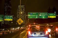 Traffico di ora di punta Fotografie Stock