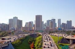 Traffico di ora di punta di Miami Immagini Stock