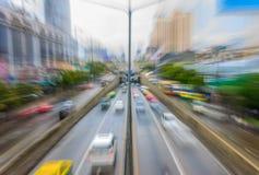 Traffico di sera Immagine Stock Libera da Diritti
