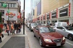 Traffico di Toronto fotografie stock