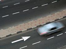 Traffico di veicoli Fotografia Stock