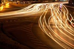 Traffico di veicolo leggero. Fotografie Stock Libere da Diritti