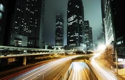 Traffico a Hong Kong fotografie stock
