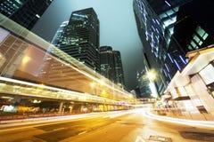 Traffico in Hong Kong fotografie stock