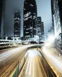 Traffico in Hong Kong fotografia stock libera da diritti