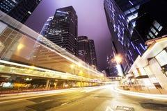 Traffico in Hong Kong fotografia stock