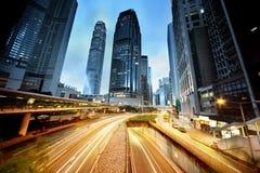 Traffico in Hong Kong immagine stock libera da diritti