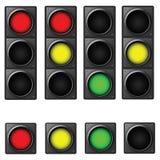 Traffico-indicatore luminoso Immagine Stock Libera da Diritti