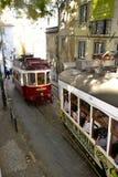 Traffico in Lissabon Fotografie Stock Libere da Diritti