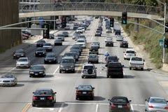 Traffico, Los Angeles Fotografie Stock
