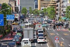 Traffico nel Giappone Immagini Stock Libere da Diritti