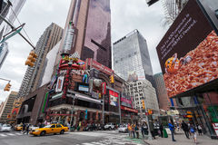 Traffico nel Midtown Manhattan di New York Fotografia Stock