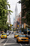 Traffico nella sezione di Gramercy di New York Immagini Stock Libere da Diritti