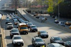 Traffico a New York Immagini Stock Libere da Diritti