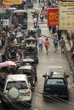 Traffico occupato Immagini Stock