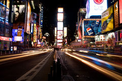 Traffico quadrato del New York Times Immagini Stock