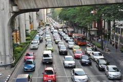 Traffico stradale Fotografie Stock Libere da Diritti