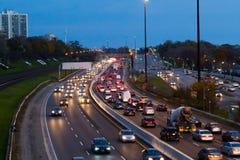 Traffico su Gardiner Express Fotografie Stock