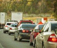 Traffico su I-75N Fotografia Stock