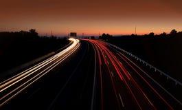 Traffico sulla strada Fotografia Stock Libera da Diritti