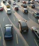 Traffico sulla via Fotografie Stock