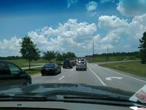 Traffico turistico Fotografia Stock Libera da Diritti