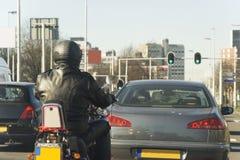 Traffico urbano fotografie stock libere da diritti