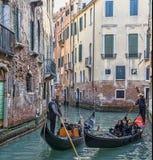 Traffico veneziano Fotografie Stock Libere da Diritti