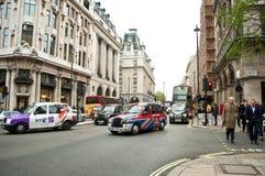 Traffico a Westminster Fotografia Stock Libera da Diritti