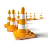 Trafic Cone Royalty Free Stock Photo