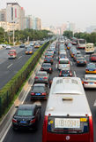 Trafic jam. Traffic jam in beijing,china Stock Image