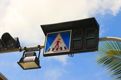 Trafic sign Royalty Free Stock Photography