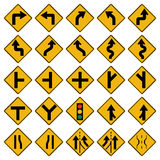 Trafic Signal. Complete Set of Traffic Signal from the series of signals, Still more to come I'm working on it Royalty Free Stock Photos