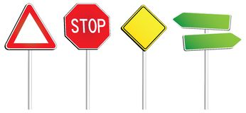 Trafic Signs stock photography
