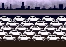 trafik vektor illustrationer