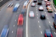 trafik Arkivfoto