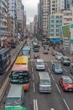 Trafik Argyle Street Royaltyfri Foto