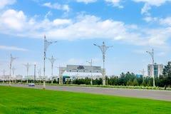 Trafik 02 Ashgabat för låg styrka royaltyfri foto