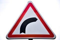 Trafik eller vägmärke i dag fotografering för bildbyråer